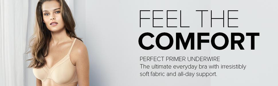 e7eac51f3d Wacoal Perfect Primer Underwire Bra Bra at Amazon Women s Clothing ...