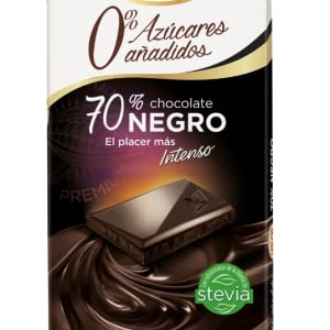 Chocolates Valor - Chocolate Negro 70% - 125 g - , Pack de 6 ...