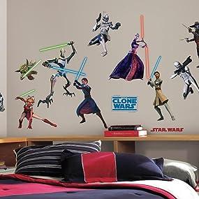 star wars classic, star wars wall decals, star wars wall stickers, star wars poster