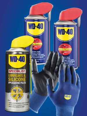 wd40, lubrificante al silicone, manutenzione fai da te, lubrificante spray wd 40, wd40 specialist,