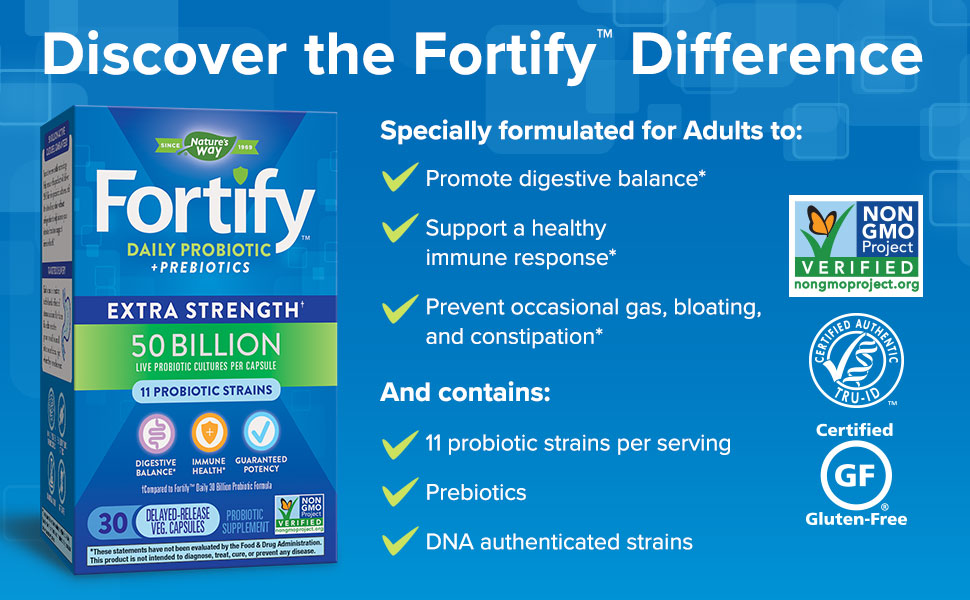 Discover the Fortify Difference