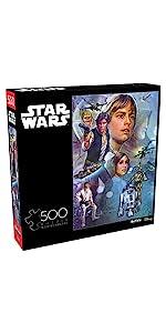 Star Wars Celebration - A New Hope - 500 Piece Jigsaw Puzzle