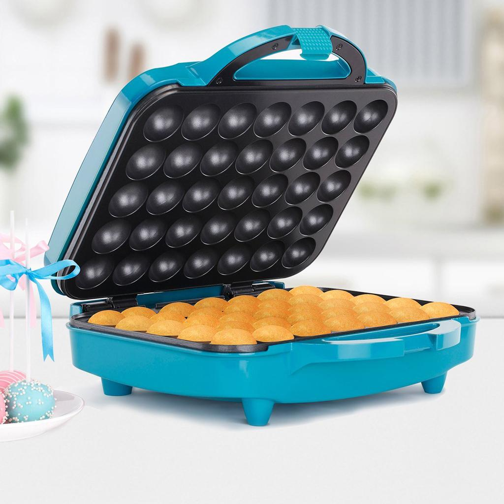 holstein housewares hb 09035e cake pop maker teal home kitchen. Black Bedroom Furniture Sets. Home Design Ideas
