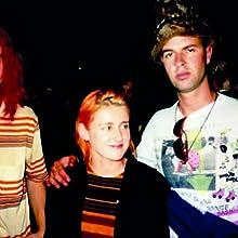 Travis Threlkel (far left) with Luella Jane Wright and James Mervine.