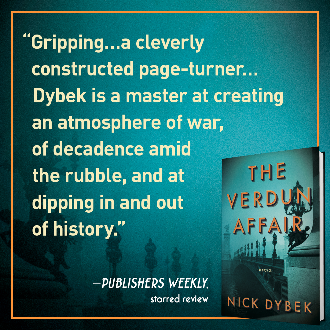 Amazon.com: The Verdun Affair: A Novel (9781501191763): Nick Dybek ...