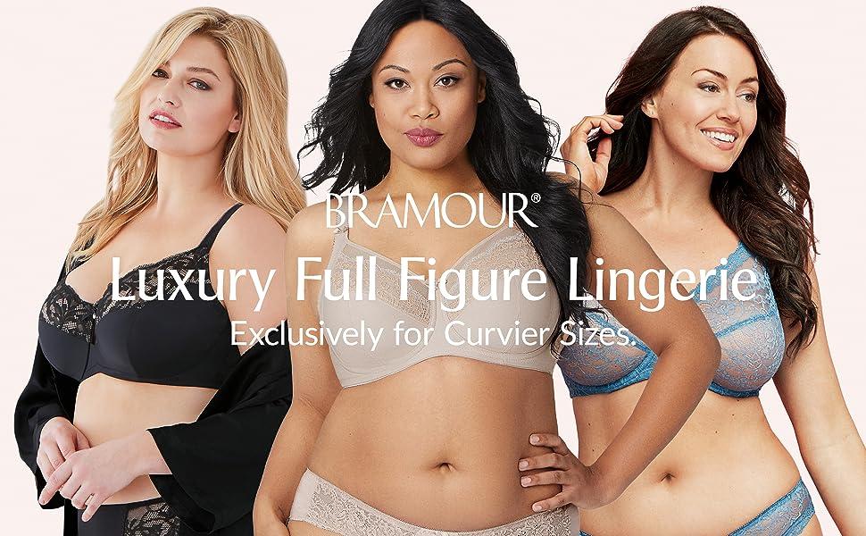 bramour luxury lingerie full figure support glamorise soho noho tribeca chelsea brooklyn madison