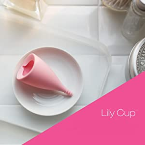 lily cup compact menstrual cup intimina