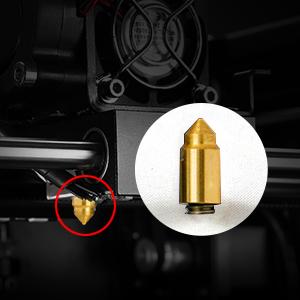 bullet type 3d printer