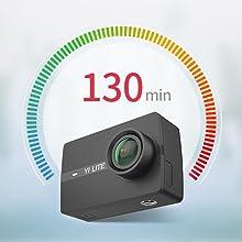 YI Lite Action Kamera mit wasserdichtem Gehäuse: Amazon.de