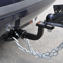 CURT Class 1 Hitch with Ball Mount