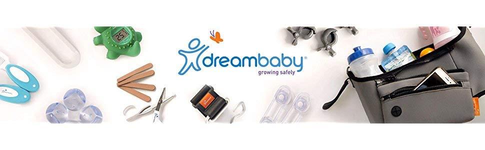 silber Dreambaby Style F1107 Flexible Kindersicherung Schranksicherung Schubladensicherung zum Kleben