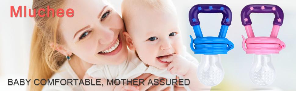 Amazon.com: Mluchee - Comedero de silicona para bebé, diseño ...
