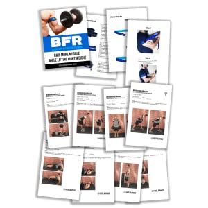 BFR BANDS Occlusion Training Bands, 2 in Rigid Edition