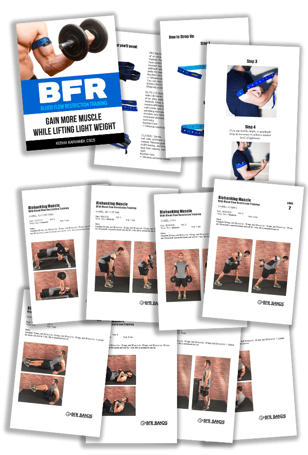 Amazon.com : BFR BANDS Occlusion Training Bands, 2 in Rigid Edition, Blood Flow Restriction