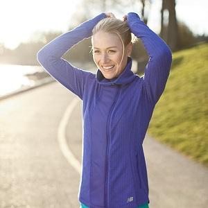 0c858e42a2287 Amazon.com : New Balance Womens Novelty Heat Jacket : Clothing