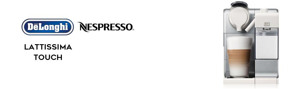 Nespresso coffee machine; Delonghi coffee machine; Lattissima; EN560S