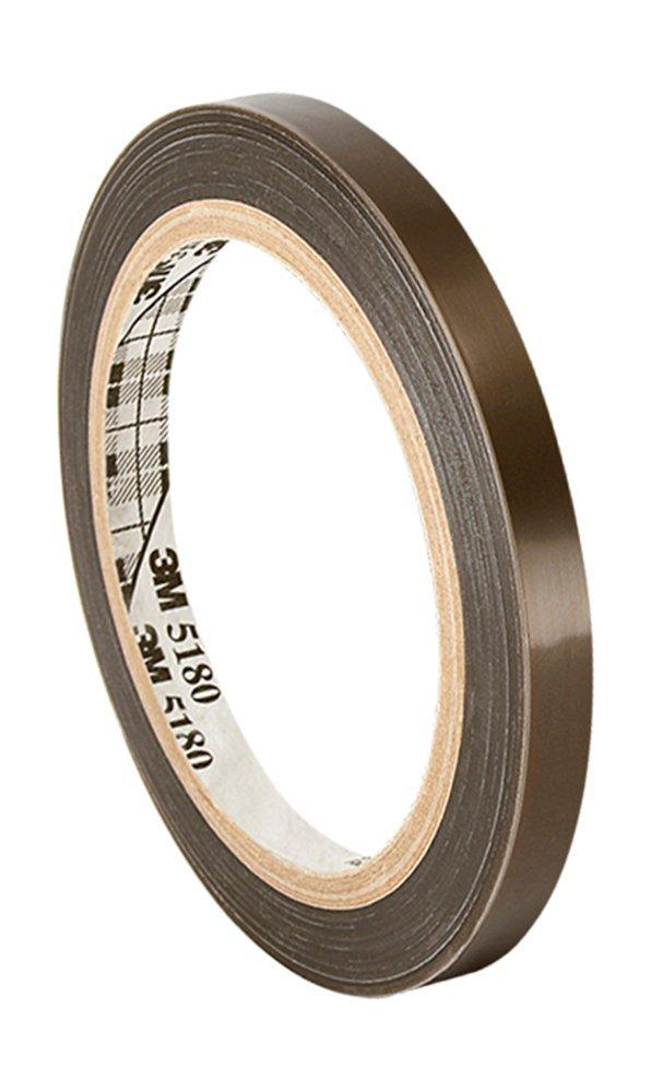 4.375 x 36 Yards Teflon 21-3S Teflon Coated Tape Silicone Adhesive