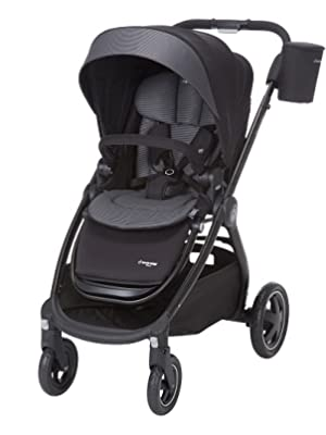 Cozi-Dozi, infant support, carriage mode, forward-facing stroller, rear