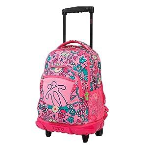 Mochilas escolares con ruedas, mochilas grandes infantiles en varios colores y estampados - Mochilas Totto