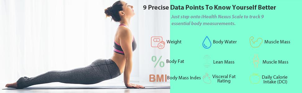 SMART SCALE IHEALTH BODY FAT