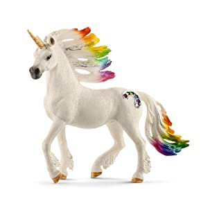 schleich rainbow unicorn foal toy figure figures amazon canada. Black Bedroom Furniture Sets. Home Design Ideas