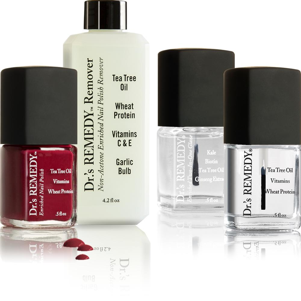 Amazon.com : Dr.\'s Remedy Enriched Nail Polish, MINDFUL Mulberry ...