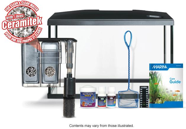 Marina led aquarium kit 5 gallon pet supplies for Kit aquarium