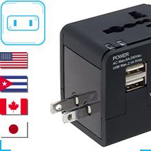 worldwide charging all in one charger international adapter universal charger travel adapter