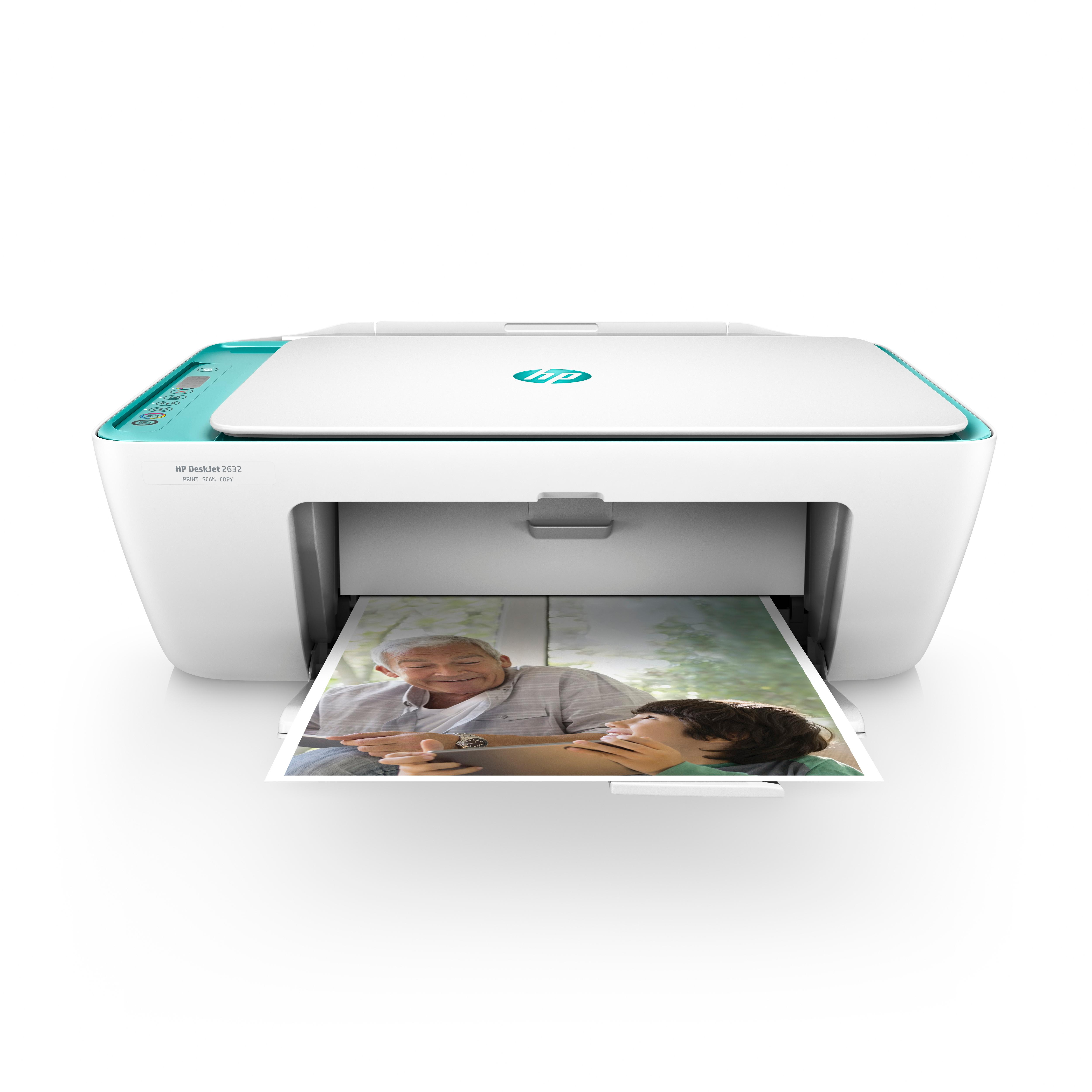 HP Deskjet 2632 All-in-One Printer, Instant Ink with 3 ...
