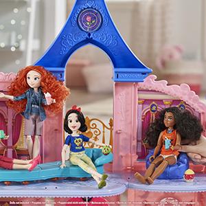 Comfy mansion; comfy squad; disney princess wreck it ralph dolls; disney princess