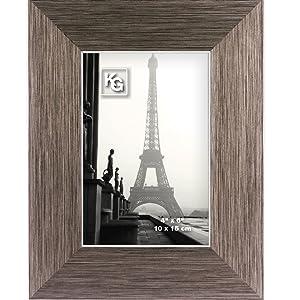 kieragrace,Emery,photo frame,desk frame,wall frame,glass cover,rustic,barnwood,easel-back,hanging