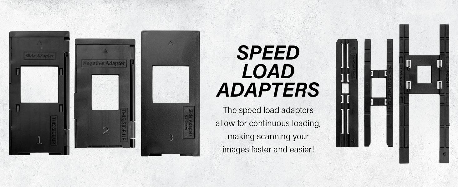 adapter speed fast load film negative convert scan 35mm super8 120 film 110film instant jpeg sd