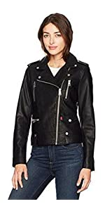 Levi's Women's Contemporary Asymmetrical Motorcycle Jacket