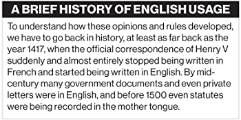 A Brief History of English Usage