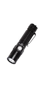 2000 high lumens bright edc flashlight