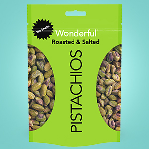 no shell pistachios