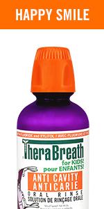 TheraBreath Kids Anti-Cavity Oral Rinse - Organic Gorilla Grape