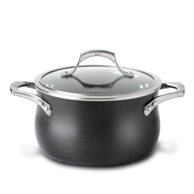 Amazon Com Calphalon Unison Nonstick 4 Quart Soup Pot