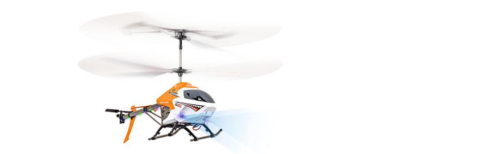 Carson 500507049/ Easy Tyrann 550/RC 3.5/CH 2.4/G 100/% RTF /Aviazione