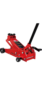 Torin BIG RED Hydraulic Floor Jack with Foot Pedal