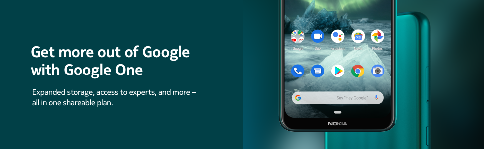 Get more out of Google with Google One and Nokia 7.2