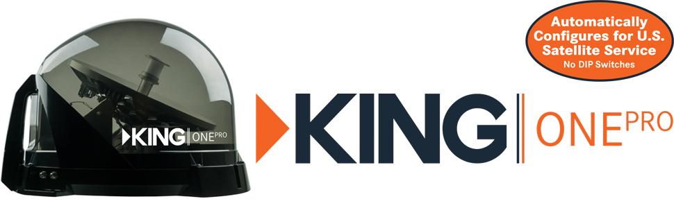 king satellite tv antenna for dish, directv, bell