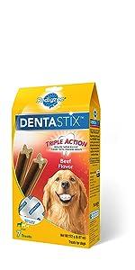 Dentastix Beef Dog Treats, Beef Flavor Dog Treats, Meaty Dog Treats, Comida Para Perros