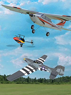 Examples of aircraft new to RF9: E-Flite Apprentice STS, Blade 230S Heli and Hangar 9 P-51D Mustang