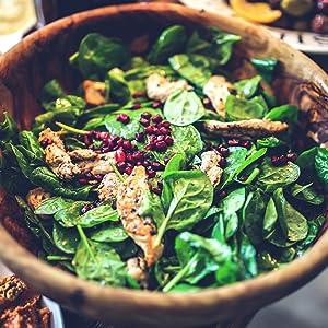 Nature's Way MCT Oil on salad