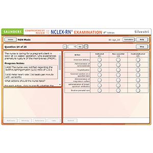 nclex, online review