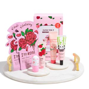 kbeauty korean skincare tonymoly rose peach skincare