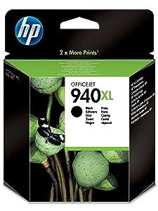 HP 940XL High Yield Black Original Ink Cartridge C4906AE