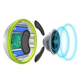 Floating waterproof bluetooth speakers colorful led light - Waterproof speakers for swimming pools ...