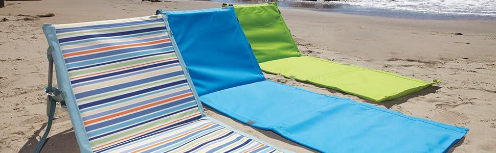 Picnic Time Beachcomber Portable Beach Mat St Tropez